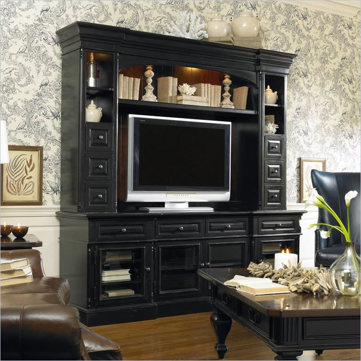 Hooker New Castle II Entertainment Console 86 In