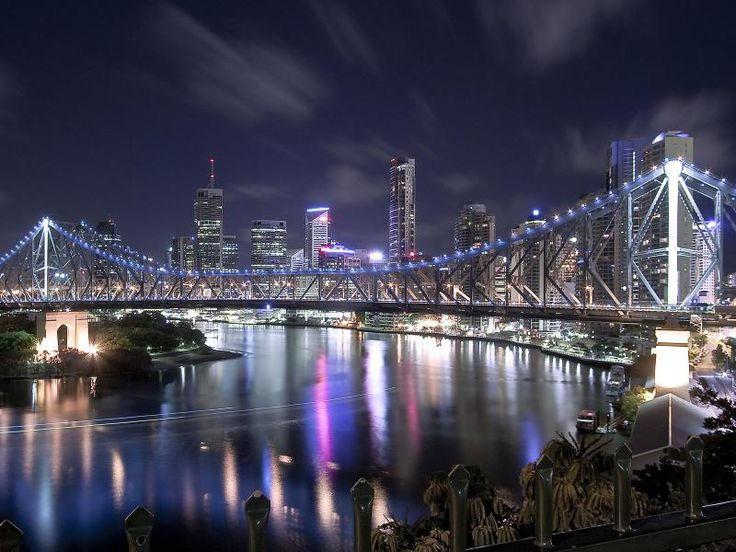 Brisbane, Australia.  Great place to visit, people could not be friendlier.