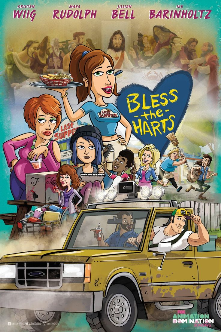 Bless The Harts in 2020 Cartoon shows, Blessed, Animation