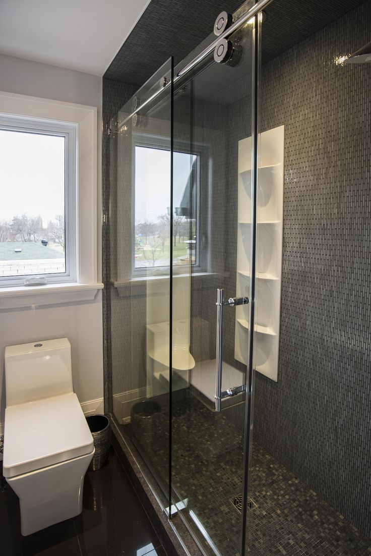Need an example of a shared bathroom done HARDCORE? Look no further.