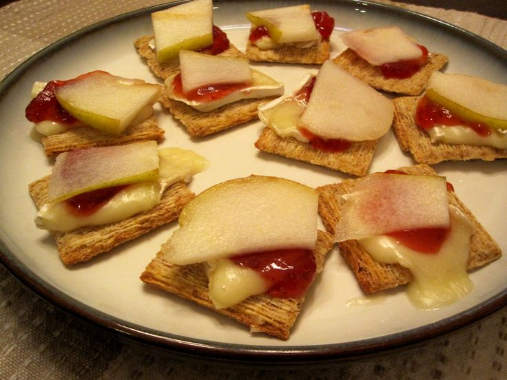 Brie and Pear
