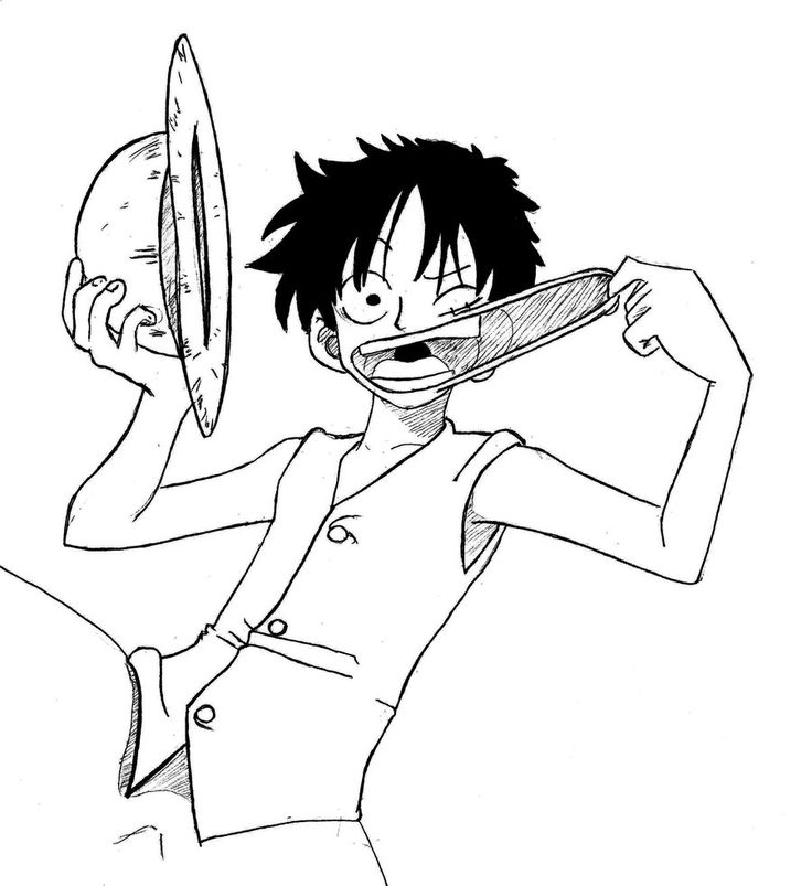 monkey d  luffy by oda