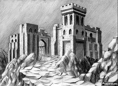 warowny-zamek-rysunek-architektura-sredniowieczna.jpg (400×290)