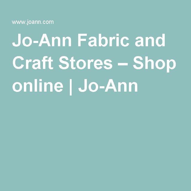 Joanns online shopping
