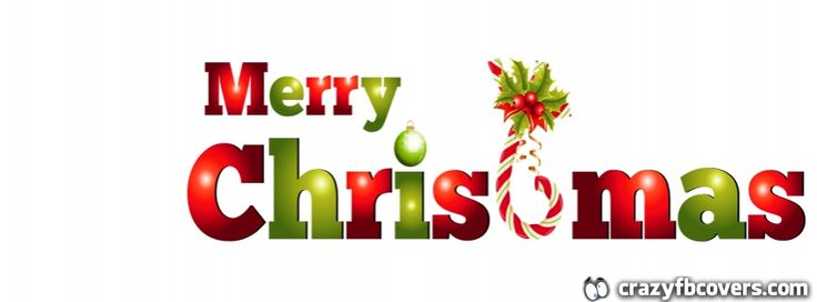 Merry #Christmas Timeline Facebook Cover - Facebook Timeline Cover Photo - Fb Cover
