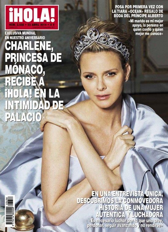 Принцесса Шарлин в испанском Hola
