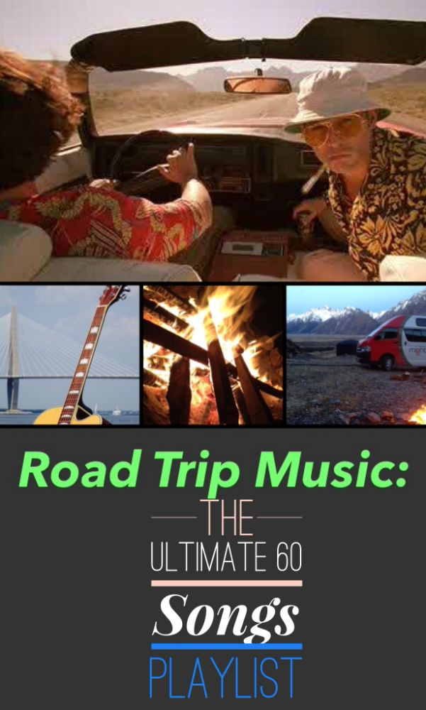 Road Trip Music – The Ultimate 60 Songs Playlist!