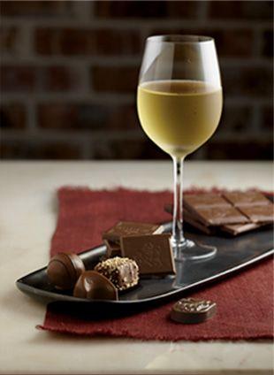Vino blanco dulce natural y chocolate negro con leche - Gran maridaje #CasaCanai