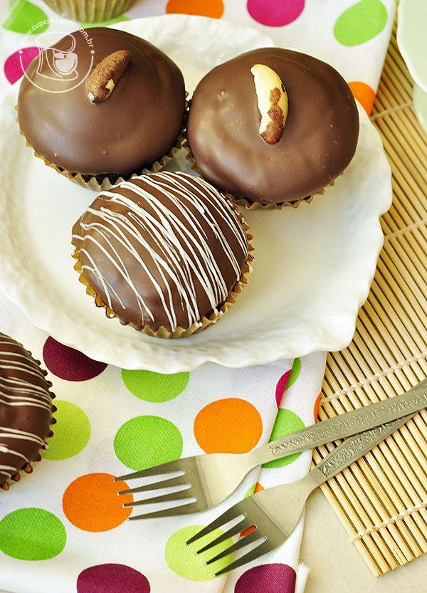 Cupcakes de pão de mel | Cupcakeando