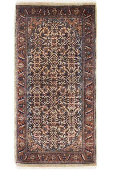 Inward Bidjar Handmade Carpet Treniq Rugs. View thousands of luxury interior products on www.treniq.com