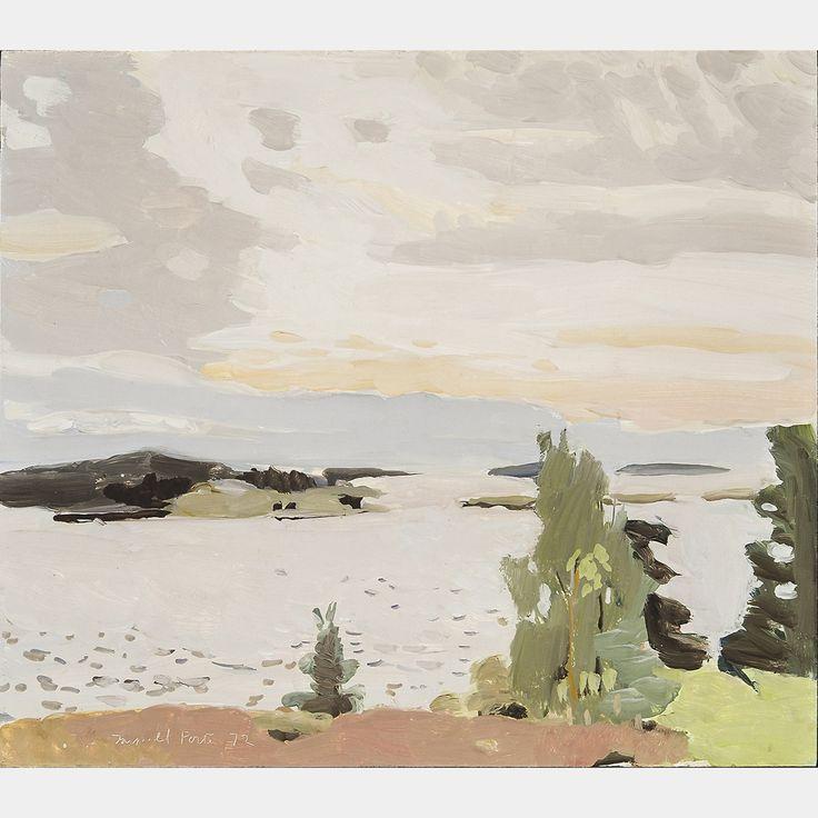 Fairfield Porter: Morning Sky