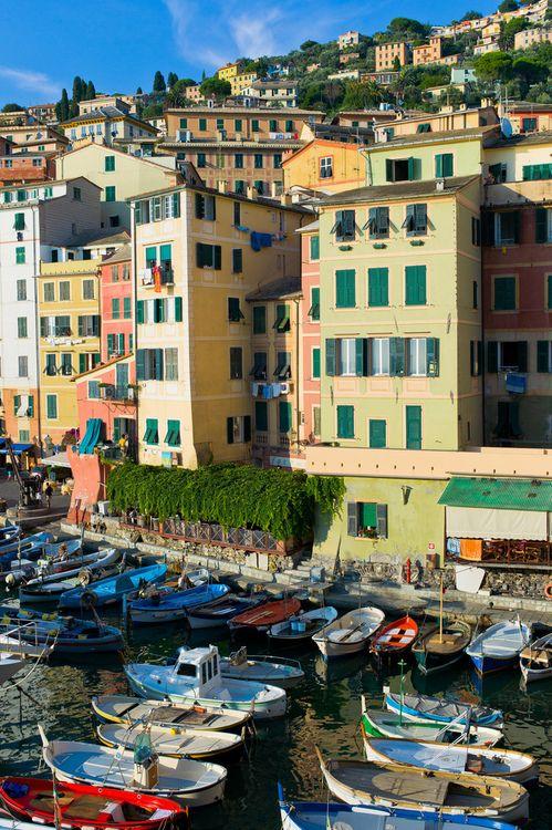 Camogli, Italy**.