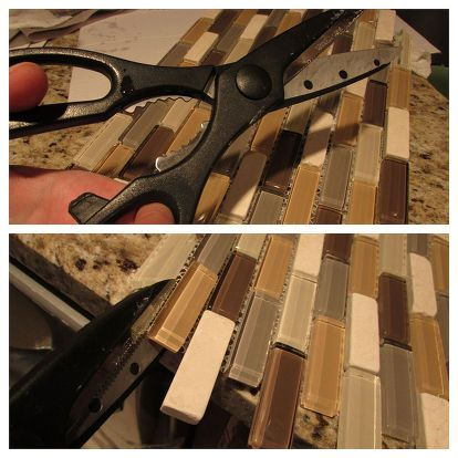 1000 ideas about kitchen cupboard redo on pinterest - How to put down tile in bathroom ...