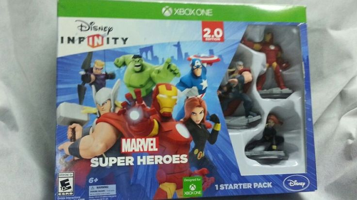 Disney INFINITY: Marvel Super Heroes  Game Starter Pack Xbox ONE NEW | Video Games & Consoles, Video Games | eBay!
