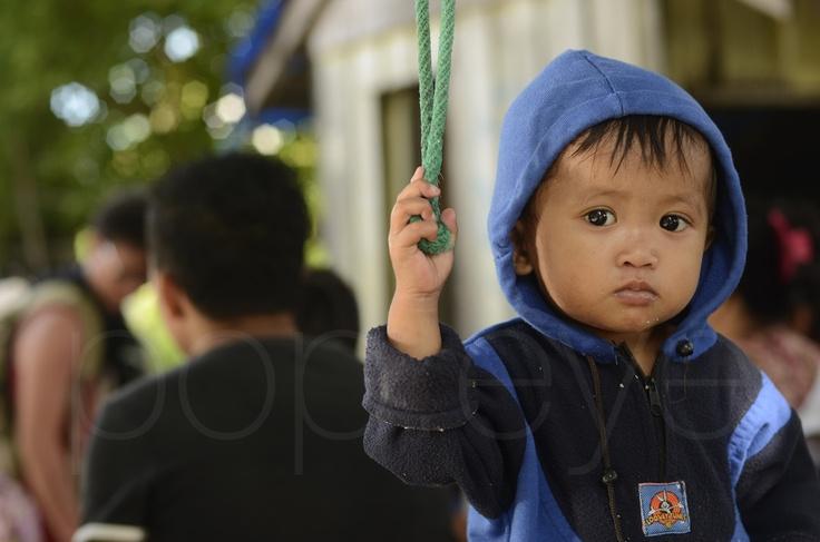 Cute face @ Sabbakatang Island, Indonesia