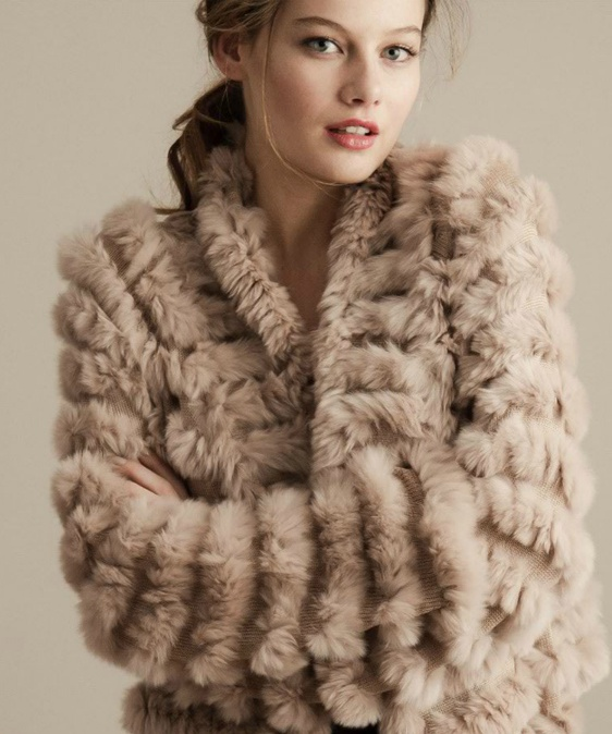 26 best H Brand June 2012 images on Pinterest | Rabbits, Fur vests ...