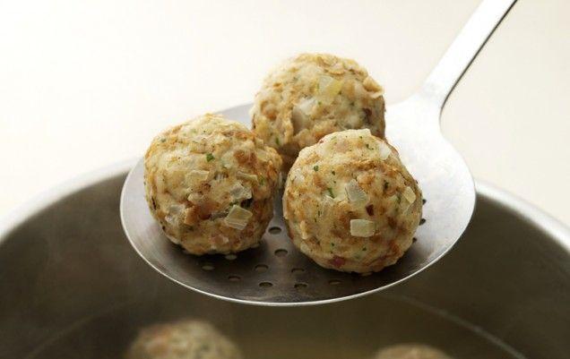 German Bread Dumplings   Recipe
