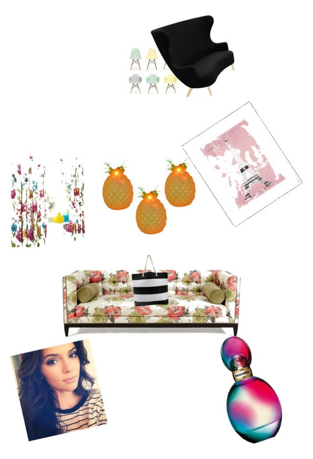 """""""Untitled #7"""" by destiny888 ❤ liked on Polyvore featuring Ciel, Tom Dixon, Old Hickory Tannery, Vintage Print Gallery and Missoni"""