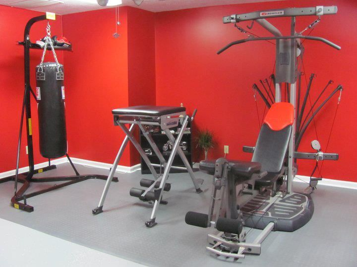 Home Gym Garage GymExercise EquipmentHome GymsHealthy LivingWorkoutRoom