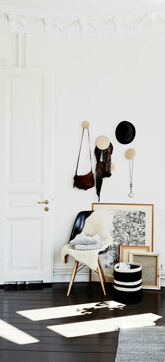 if there is room in the robe on a small section of the wall - I want to do this for bags, hats and scarves