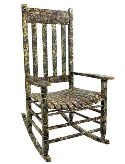 images of camo baby nurserys | It's a Realtree Advantage Max-4 HD wooden rocker and you can find it ...