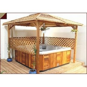 Isn't it amazing that they can ship this to your home from Amazon?: Gardens Yard Stuff, Recreation Rooms, Hot Tubs Privacy Ideas, Outdoor Spa, Jacuzzi Spa, Cool Ideas, Jacuzzi Hot, Hottub Hotspa, Laguna Hot