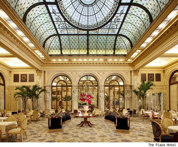 The Palm Court @ The Plaza.  My Mom's friend Catie would take me to High Tea every year -- I felt so grown up!