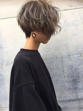Best Short Hair Women Style 2017/2018 : ハイライト強め!でこなれ今っぽショートヘアに 吉田 哲也