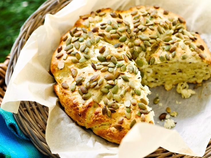 CHEESY DAMPER - This cheesy damper recipe brought to you by Good Food should take pride of place at your Australia Day table, somewhere in between the passionfruit topped pav and the rosemary roasted lamb.