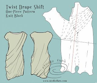 twist drape shift