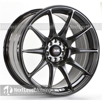 XXR Wheels: 527 18x8.75 Chromium Black Rims