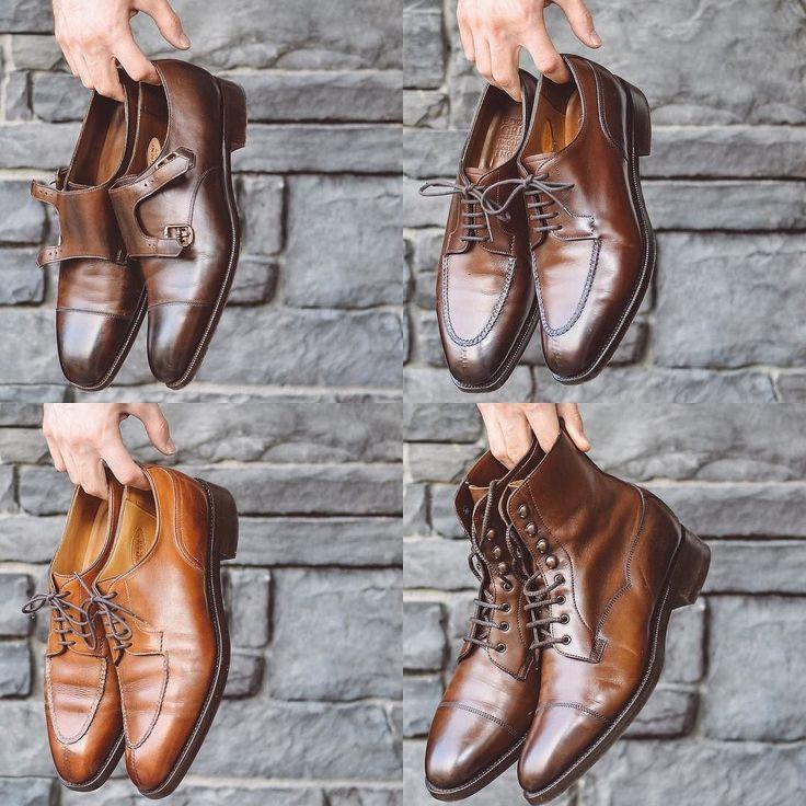 @edwardgreen1890 choices  Westminster Dovers and Galway  . . . #edwardgreen #burzanhands #dailylast #goodyearwelt #rakish #rakishgent #classicmenswear #stylishmen #menstailoring #stylishgent #madetobeworn #styleforum #mensshoes #mnswr #shoeshine #shineyourshoes #shoegazing #ptoman #shoegazingblog #shoesoftheday #shoestagram #mensweardaily #menswearblog #shoecare #mensstyle #mensfashion #dapper #madeinengland