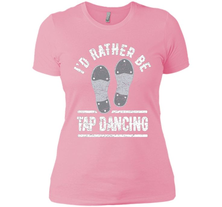100% Cotton - Imported - Machine wash cold with like colors, dry low heat - If you love tap dance you will love this cool T-shirt with tap dancing shoes with taps and with white funny distressed I'D R