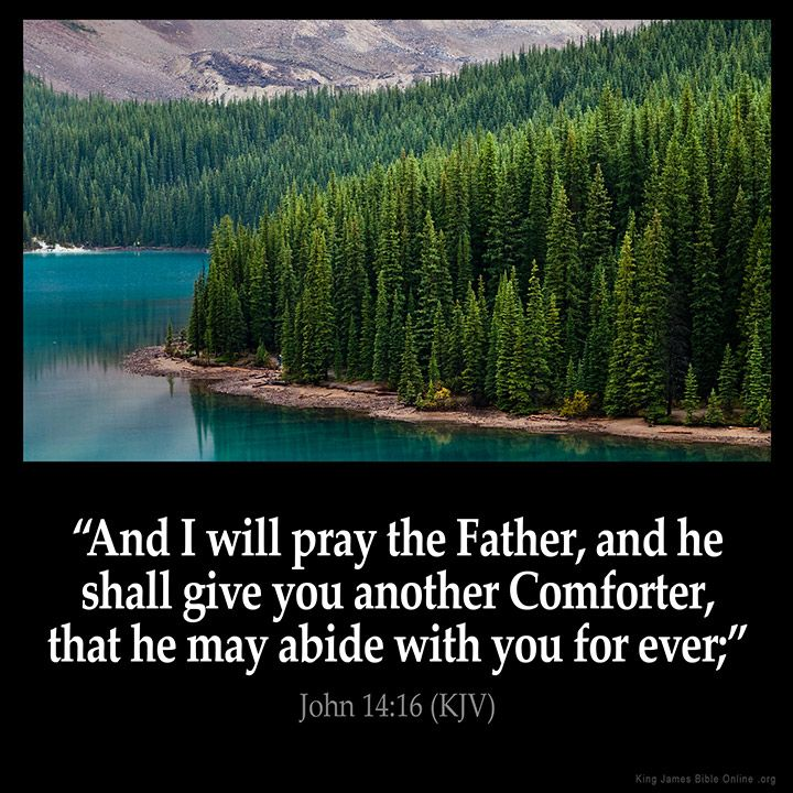 John 14:16  And I will pray the Father and he shall give you another Comforter that he may abide with you for ever;  John 14:16 (KJV)  from King James Version Bible (KJV Bible) http://ift.tt/22Bj4VC  Filed under: Bible Verse Pic Tagged: Bible Bible Verse Bible Verse Image Bible Verse Pic Bible Verse Picture Daily Bible Verse Image John 14:16 King James Bible King James Version KJV KJV Bible KJV Bible Verse Pic Picture Verse         #KingJamesVersion #KingJamesBible #KJVBible #KJV #Bible…