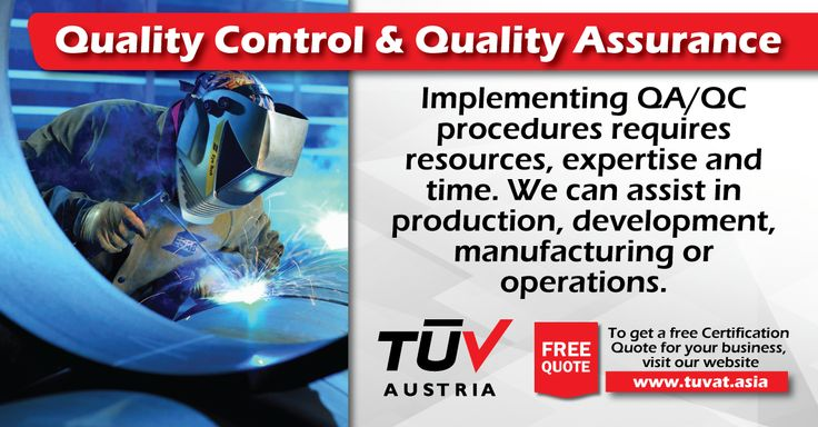 TUV Austria Quality Control and Quality Assurance Services. No compromise of quality and safety. For further queries how we can assist you: tuvat.asia/get-a-quote, or call Pakistan: +92 (42) 111-284-284   Bangladesh +880 (2) 8836404   Sri Lanka +94 (11) 2301056 to speak with a representative. #ISO #TUV #certification #inspection #pakistan #bangladesh #srilanka #lahore #karachi #colombo #dhaka #quality #assurance #control