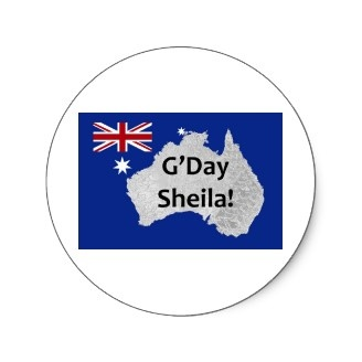 Found this while shopping for stickers for a client... G'day!Stickers Design, Promotion Stickers