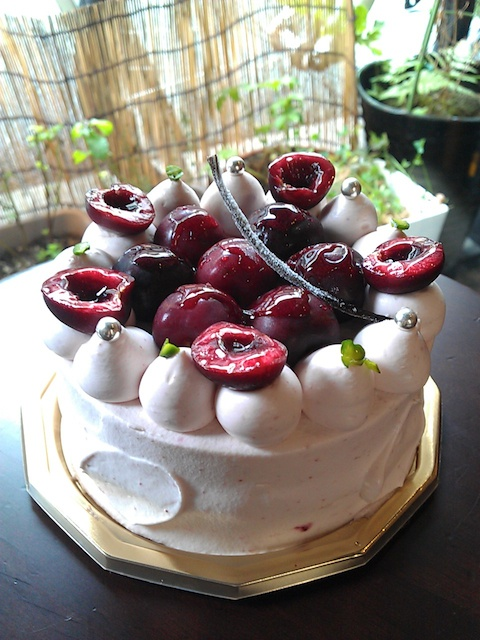 Cherry shortcake. | bakery | Pinterest