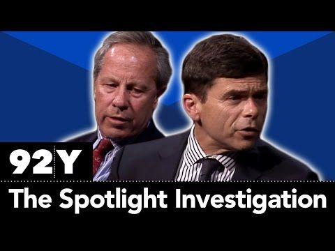 92nd Street Y: Spotlight: Boston Globe's Michael Rezendes and Ben Bradlee Jr. with Seymour Hersh