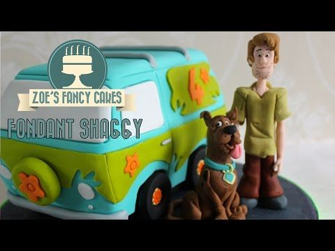 How to make a fondant Scooby-Doo How to Cake Decorating Tutorial - YouTube