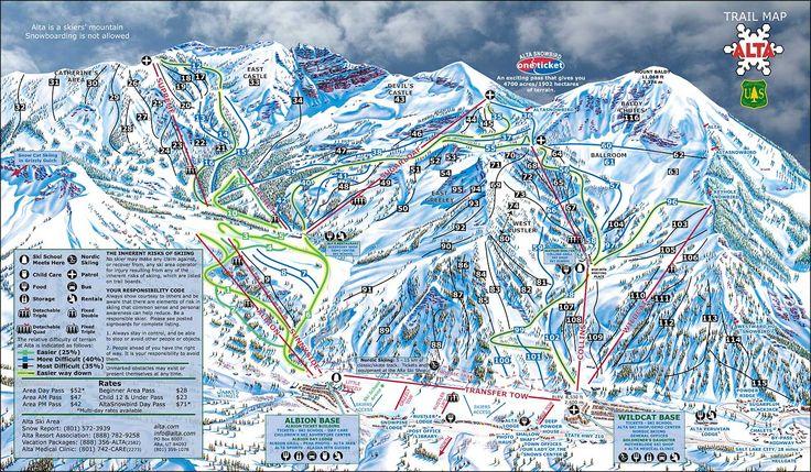 Alta Ski Resort | Alta Ski Resort, Alta, Utah