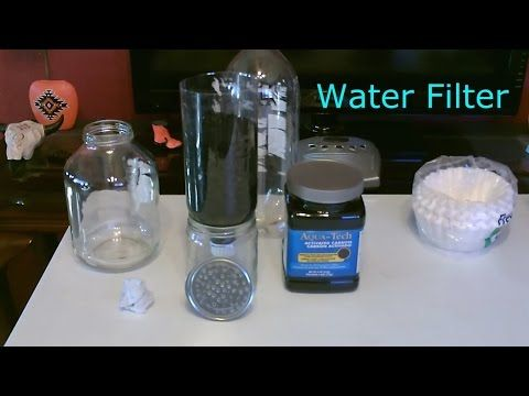 "DIY ""High Volume"" Activated Carbon Water Filter (video) 