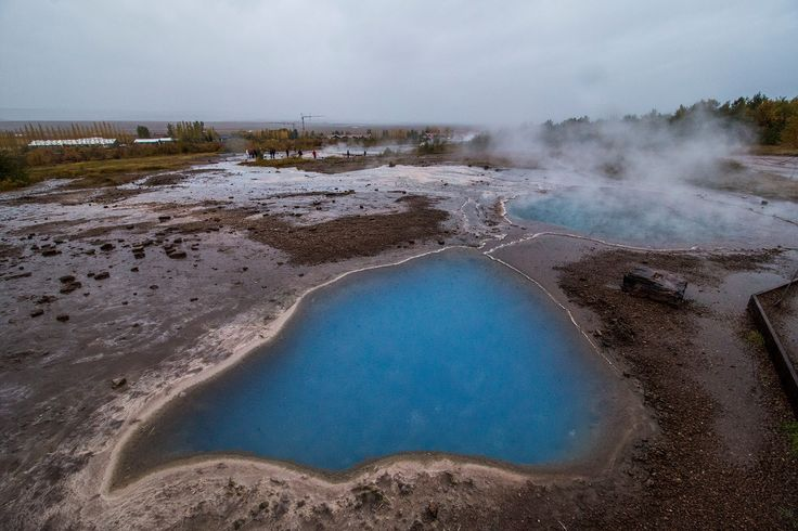 Mineral Hot Spring in Haukadalur, Iceland , on one of the stops of the famous Golden Circle. photo by Baráth Mix Levente https://www.facebook.com/mixtremevideos/?fref=ts