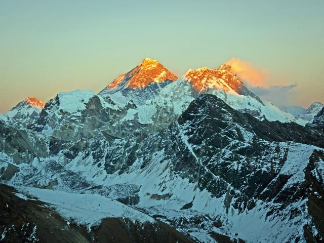 Mount Everest, the highest mountain in the world, rises onthe border of Nepal and Tibet in Asia. Learn interesting facts about Mount Everest, including its first ascent, usual climbing routes, and strange feats on the roof of the world.