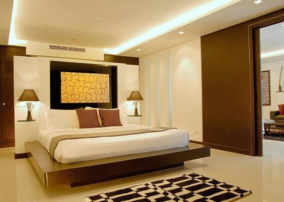 contemporary hotel bedroom interior Bedroom design
