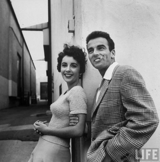 double whammy of prettiness! Elizabeth Taylor & Montgomery Clift