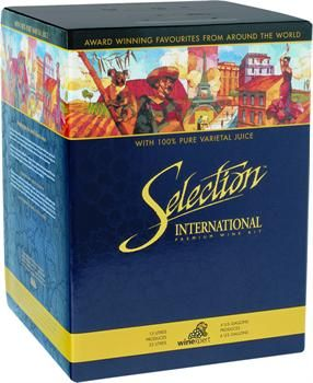 Selection International Australian Cabernet Shiraz Red Wine Kit - How to make your own wine at home - #winekits