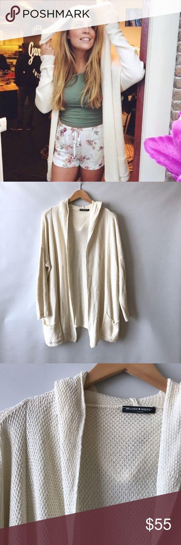 """Brandy Melville Ayara Cardigan sweater one size Brandy Melville Cardigan. One size. Excellent condition. Length 32"""" Brandy Melville Sweaters Cardigans"""