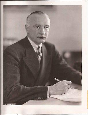 COL. F.C. HARRINGTON PRESS PHOTO WORKS PROGRESS ADMINISTRATION CHIEF VINTAGE