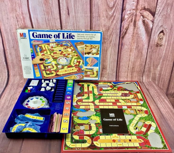 Vintage 1978 MB Board Game Game Of Life Family Fun & Games Gift Present 🎁 party