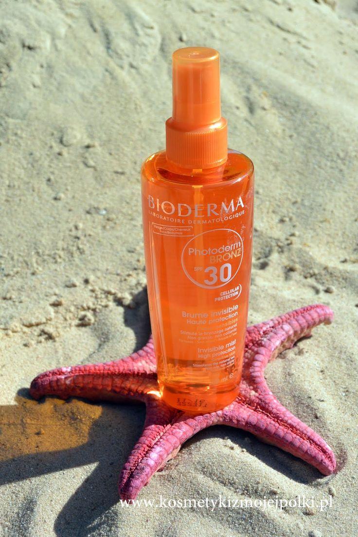 Kosmetyki z Mojej Półki: BIODERMA Photoderm BRONZ BRUME SPF30/UVA13 | Ochronny olejek przyspieszający opalanie